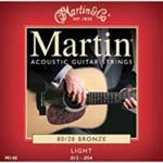 Martin   M140  Acoustic Lite Guage Strings