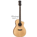 Luna   SONGPAR  Heartsong Parlor Solid Top Acoustic Electric