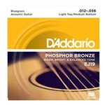 Daddario   EJ19  Phosphor Bronze Acoustic Bluegrass