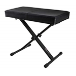 Frameworks   GFWBENCH1  Black Keyboard Bench with Deluxe Seat