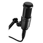 Audiotechnica   AT2020  Side-address cardioid condenser microphone