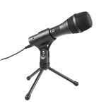 Audiotechnica   AT2005USB  Dynamic handheld microphone with two outputs: digital (USB) and XLR