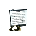 Deg   HC260  Trumpet Lyre, Clamps on Bell