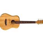 Luna   SAFBAMBOO  Safari Bamboo Travel Guitar w/Gigbag