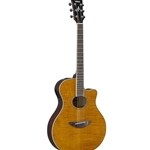 Yamaha   APX600FM  AIMM exlusive Acoustic Electric Guitar Flame Amber