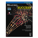 Measures of Success Clarinet Book 1w/CDs