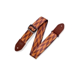 Levy   MPF2-004  Offset Arrow Guitar Strap