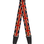 Buckle-Down   GS-W32123  UNITED KINGDOM FLAGS DISTRESSED PAINTING