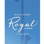 10RRBC3  Rico Royal #3 Bass Clar 10pk