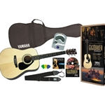 Yamaha   GIGMAKERDLX  Solid Top Acoustic Guitar Package