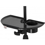Frameworks   GFW-MICACCTRAY  Detachable Mic Stand Accessory Tray