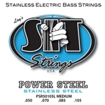 SIT   PSR50515L  Power Steel Medium Bass Strings