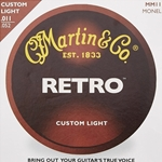 Martin   MM11  Retro Custom Light Acoustic Strings