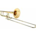 "Shires   TBQ30YA  Q Series Large-bore Tenor Trombone With Axial Flow ""F"" Attachement"