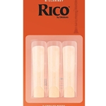 3RC3  Rico Bb Clarinet #3 3 pk.