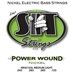 SIT   NR45105L  Powerwound Nickel Bass Med Light