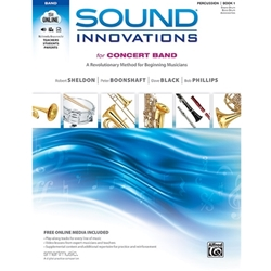 Sound Innovations for Band Snare Drum, Bass Drum Book 1
