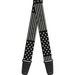 Buckle-Down   GS-W30169  AMERICANA STARS & STRIPES WEATHERED BLACK GRAY