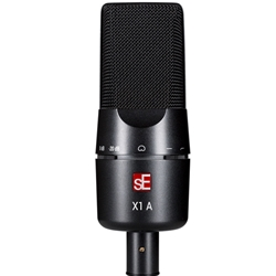 sE Electronics   X1-A-U  X1 Series Condenser Microphone and Clip